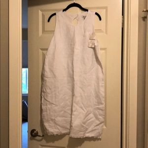 White Linen Tommy Bahama Dress
